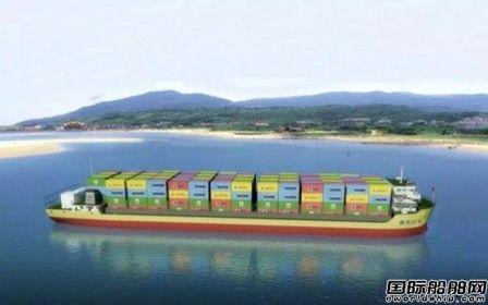 金航船舶建造湖南首艘万吨级LNG动力集装箱船