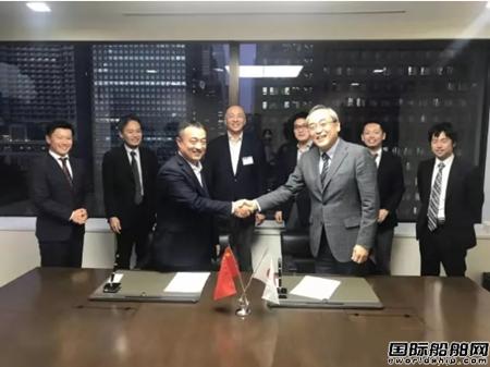 天元航运与日本邮船签订战略合作协议