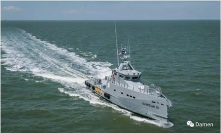 达门交付最新款快速人员运输及巡逻船