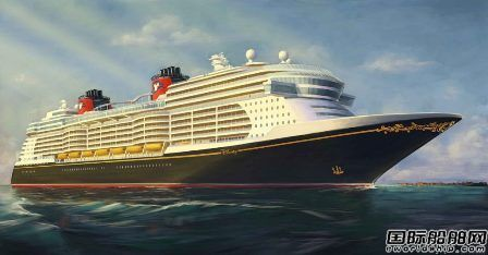 迪士尼邮轮将在Meyer Werft增订3艘LNG动力邮轮