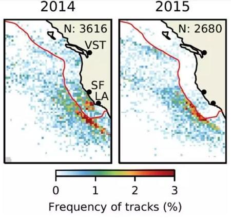 卫星跟踪显示船舶硫排放如影响云层和气候