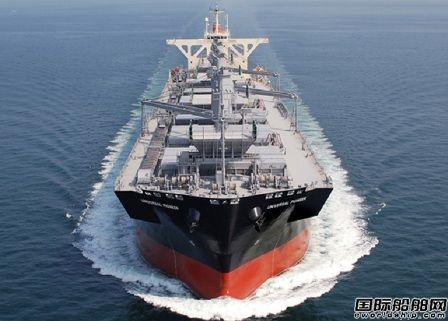 大岛造船交付商船三井1艘新型木片运输船