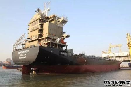 广东中远海运重工连续完成两艘姐妹船空船测量