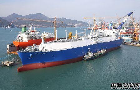 51艘!韩国船企继续垄断LNG船市场