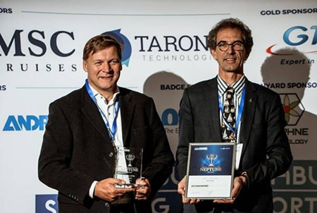 Conoship研制新型折叠风帆获荷兰年度海事创新奖