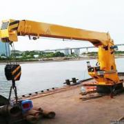 供应船用起重机 5吨伸缩式船吊
