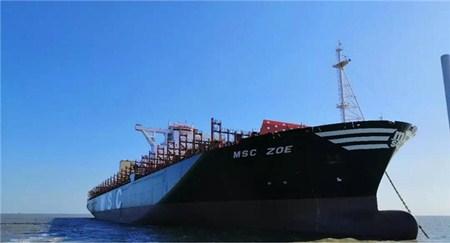 七一一所交付首套19000TEU集装箱船脱硫系统