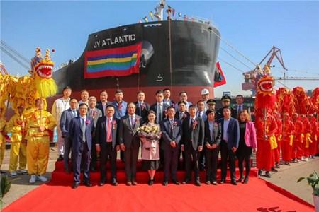 中船澄西交付交银租赁一艘81200吨散货船