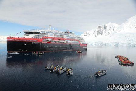 全球首艘电池动力探险邮轮在南极洲命名