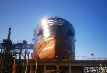 舟山中远海运重工首次实现新造项目船台阶段发电机动车