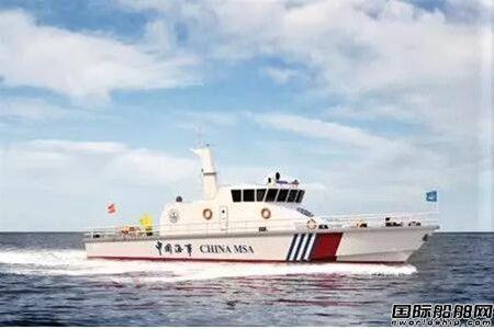 七�八所设计两艘海巡船一天完成两节点