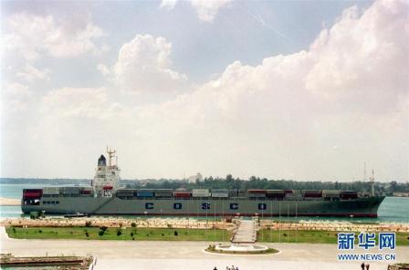 埃及举行仪式庆祝苏伊士运河通航150周年