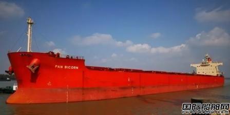 """南京港首艘巴拿马型船长江段""""进江直达""""成功试点"""