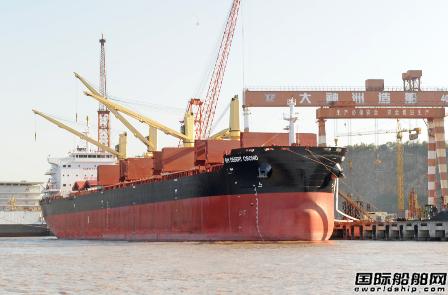 扬帆集团一艘64000吨系列散货船交付