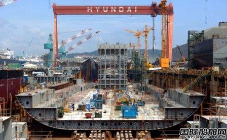 现代尾浦造船获1+1艘18000方LNG供气船订单