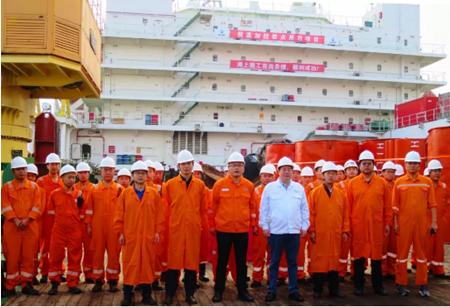 """""""海隆106""""船中石油孟加拉项目进入实施阶段"""
