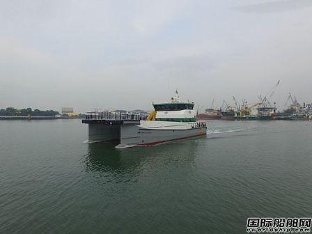 东方风能购置5艘海上风电人员运输船