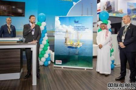 """中东""""超级船厂""""命名GustoMSC设计新型自升式钻井平台"""