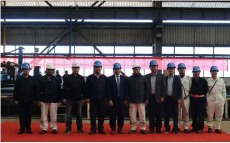 芜湖造船厂10艘8000吨散货船实现同步批量建造