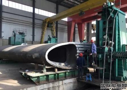 鞍钢铸造国内最大挂舵臂交付大船集团