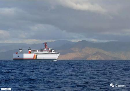 达门宜昌船厂将为东帝汶政府建造一艘客滚船