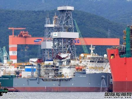 三星重工巴西钻井船项目行贿被罚巨款