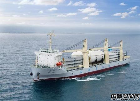 """中远海运特运实现重吊船""""运输+安装""""LPG罐全满贯"""