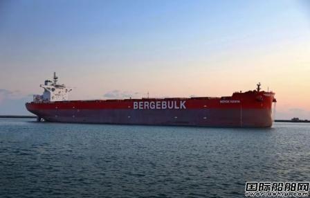 渤船重工21万吨20号船完成海试项目试航归来