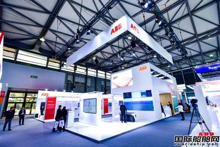 ABB智能技术集中亮相中国国际海事展