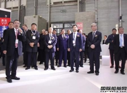 中国船级社海事展首日颁发多份证书