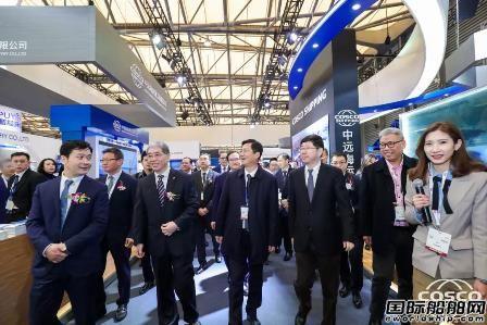 中远海运重工亮相第20届中国国际海事展