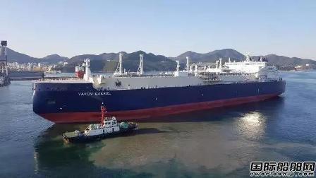 中远海运能源亚马尔冰级LNG船最后一艘完成交付