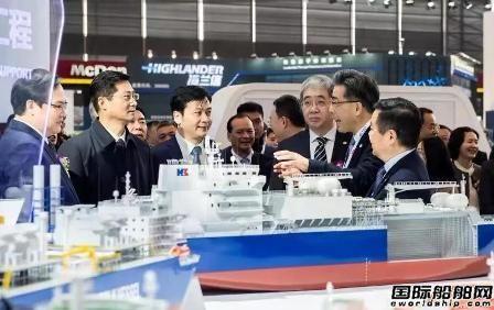 沪东中华6款新船精彩亮相中国国际海事会展