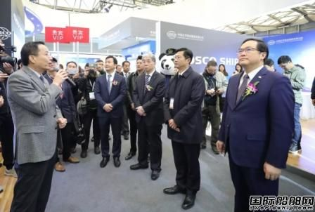 2019中国国际海事会展盛大开幕