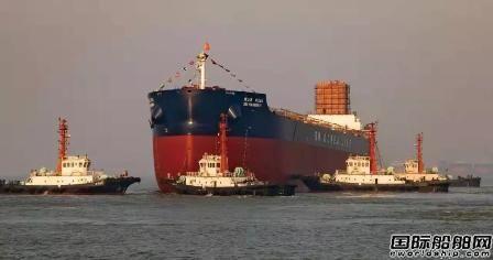 5.3万吨散货船价格_中船澄西为SM集团建造第5艘8.2万吨散货船下水-在建新船-国际