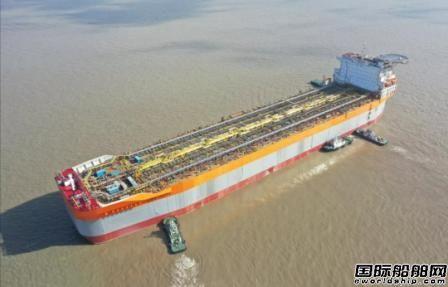 外高桥造船和SBM签署第三艘FPSO船体合同
