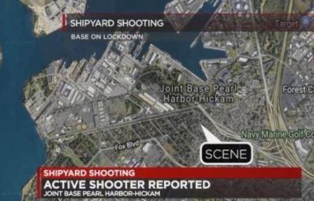 外媒:美国珍珠港造船厂枪案3死1伤