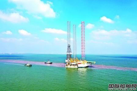 外高桥造船交付2座自升式钻井平台