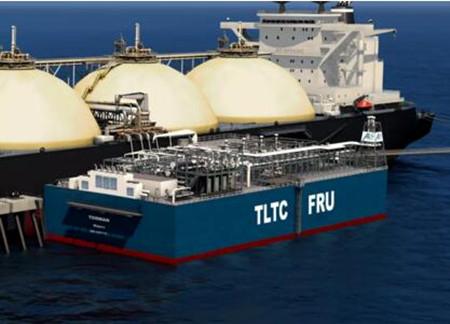 江南造船完成14000方Type C型单体罐驳运吊装任务