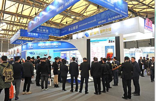 扬帆集团携自主研发船型亮相中国国际海事展