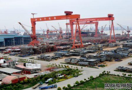 中国船企11月揽获全球近70%新船订单