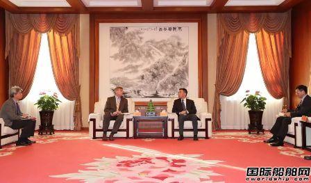 中国船舶集团副总经理孙伟会见SBM高层