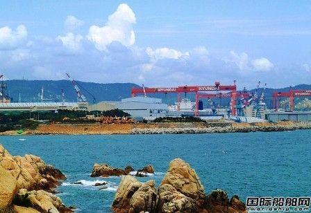 现代三湖重工再获1艘174000方LNG船订单