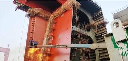 北船重工全力冲刺新造船、改修船年度生产目标