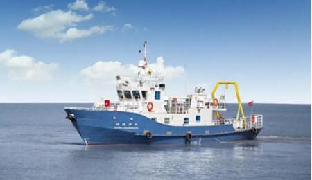 江龙船艇交付中科院声学研究所科考试验船