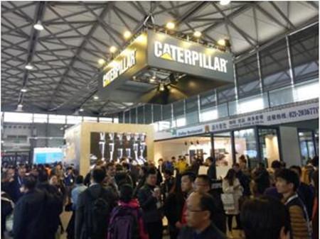 卡特彼勒亮相中国国际海事展