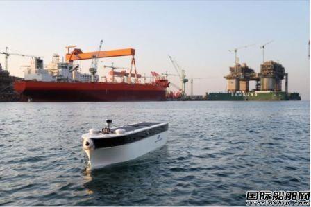 三星重工联手SK电讯完成5G遥控无人船测试