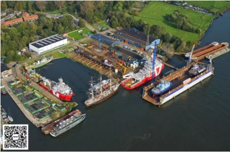 达门Oranjewerf修船厂庆祝成立70年
