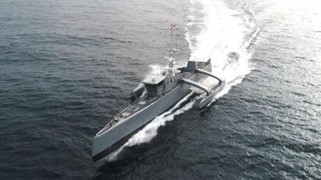 """美海军拟打造""""海上列车""""无人舰队"""