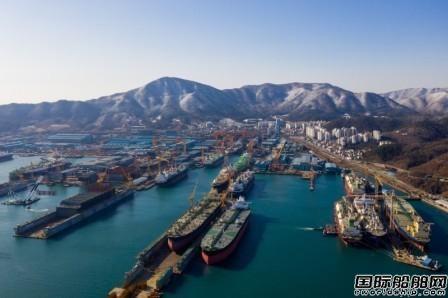 利润翻两番?韩国船企2020年业绩将大幅改善